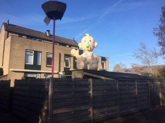 Apeldoorn heeft er weer een nieuwe inwoner bij. En dat mag gezien worden!