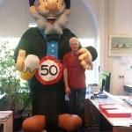 Rob 50 jaar !! iedereen mag het weten!